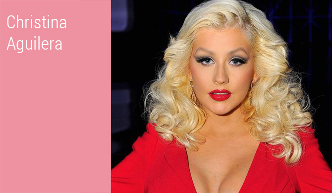 Celebrities_Christina Aguilera